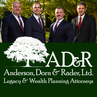 Anderson Dorn and Rader attorney group photo, estate planning
